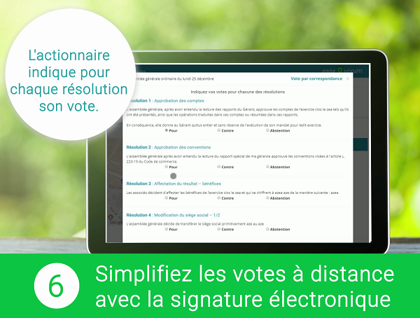Vote à distance électronique